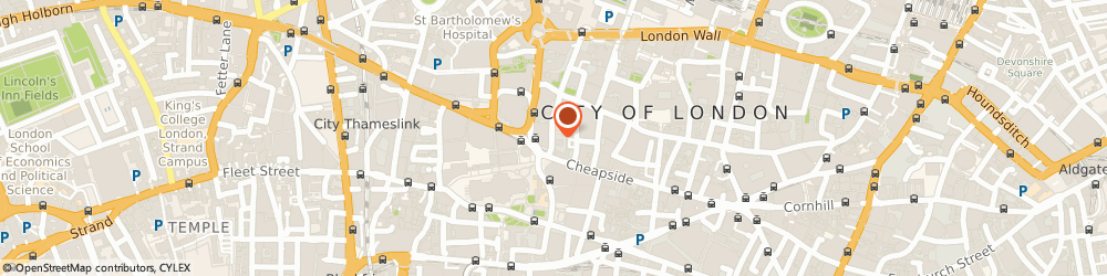 Route/map/directions to Yoga London - Energy Yoga, EC2V 6HH London, 4 Foster Ln