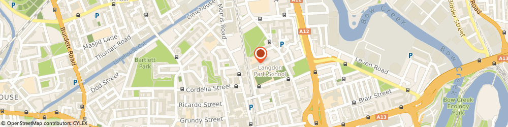 Route/map/directions to Spotlight, E14 6GN London, 30 Hay Currie St