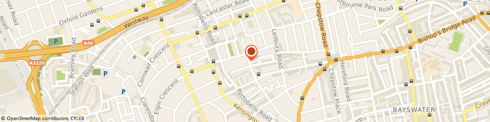 Route/map/directions to Elementonehouse, W11 2BT London, Unit 7, 29-31 Colville Road, Notting Hill