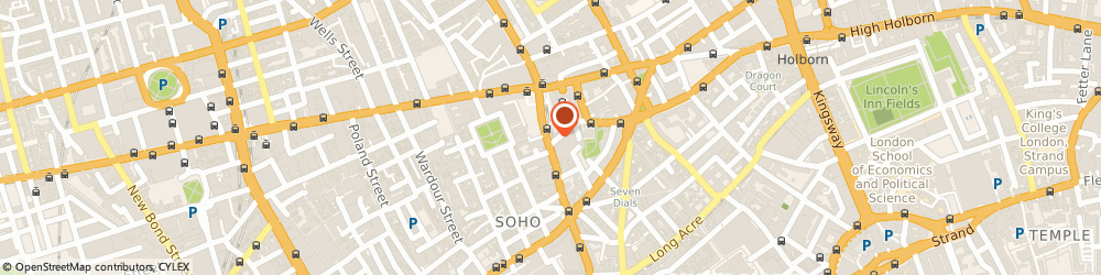 Route/map/directions to Prontaprint, WC2H 0LA London, 126 CHARING CROSS ROAD