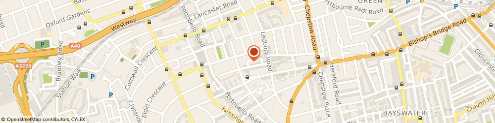 Route/map/directions to Bacchanalia Limited, W11 2AR London, 1 Colville Mews