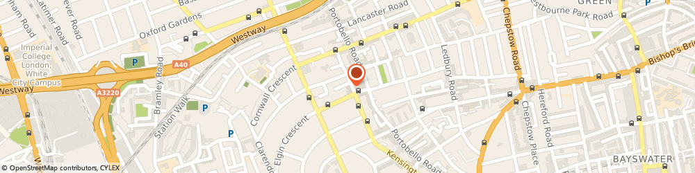 Route/map/directions to Mufti, W11 2EU London, 25 Kensington Park Road