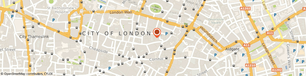 Route/map/directions to Jackson Potter, EC2N 2AT London, Warnford Court, 29 Throgmorton St