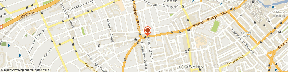 Route/map/directions to Evans Cycles, W2 5RU London, 106 Westbourne Grove