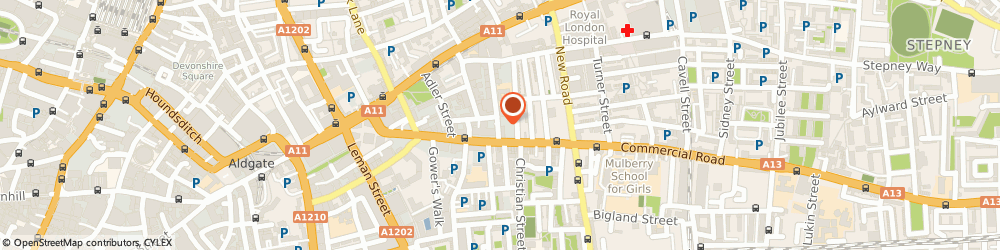 Route/map/directions to Feel Free Clothing, E1 1EJ London, 52 Greenfield Road