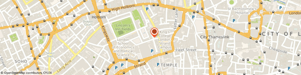 Route/map/directions to Instant Access Ltd, WC2A 3RP London, 6 New Sq, Lincoln's Inn