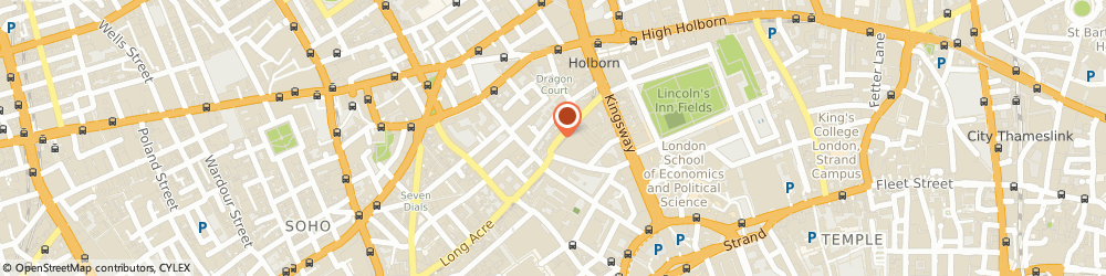Route/map/directions to Ted Baker - LONDON, WC2B 5AA London, 33 Great Queen Street, Covent Garden