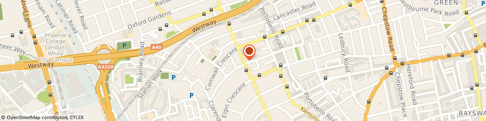 Route/map/directions to Viceroy Furniture Ltd, W11 1PG London, 105 LADBROKE GROVE