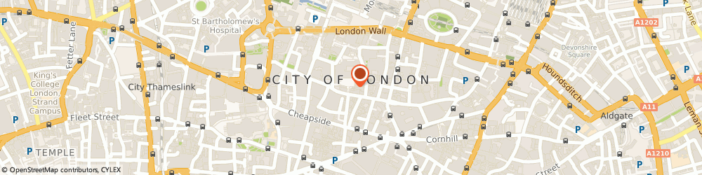 Route/map/directions to People Location, EC2V 5AE London, Blackwell House Guildhall Yard
