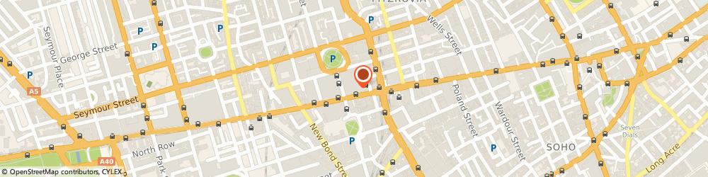 Route/map/directions to Massage directory, W1C 1DX London, Oxford Street