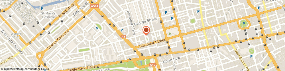 Route/map/directions to Fabrico Limited, W1H 7LW London, ONE GREAT CUMBERLAND PLACE, MARBLE ARCH