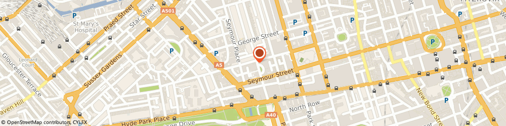 Route/map/directions to S. Simon & Co. Limited, W1H 7LW London, 1 GREAT CUMBERLAND PLACE, MARBLE ARCH