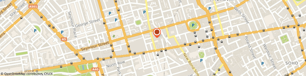 Route/map/directions to T Burrows, W1U 1ES London, 36 James Street