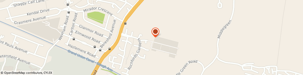 Route/map/directions to ARK LETTINGS AND MANAGEMENT LIMITED, SL2 5UN Slough, Main House Rochfords Gardens