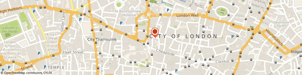 Route/map/directions to Front Row Furniture, EC1A 4EN London, St. Martins House