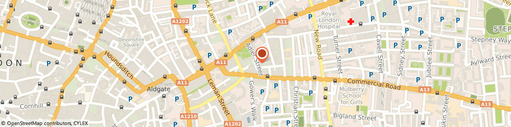 Route/map/directions to Albertson Limited Wholesale Ladies Clothing, E1 1EG London, 3 Adler St