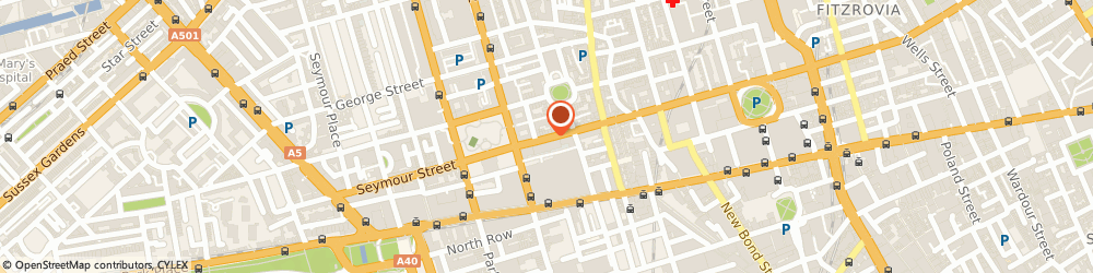 Route/map/directions to Property Hunters Ltd, W1U 3RX London, 122 Wigmore Street