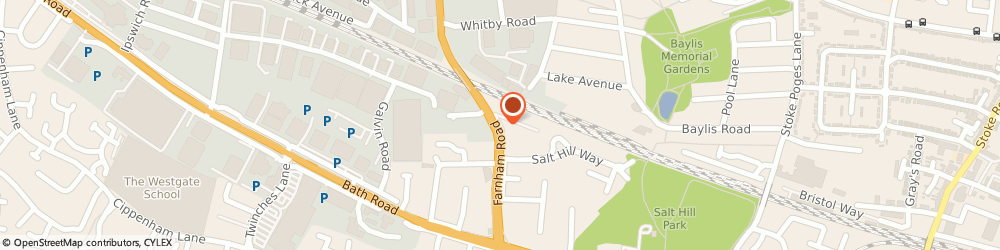 Route/map/directions to Chris Dowling Building Services, SL1 3TA Slough, 70 FARNHAM ROAD