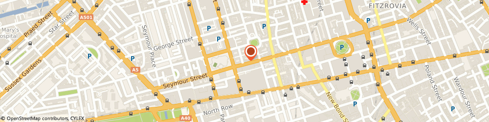 Route/map/directions to Trisara Consultants UK Ltd, W1U 3RZ London, 126 Wigmore Street