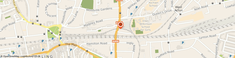Route/map/directions to Easy Limo, W5 3HJ London, Ealing House, 33, Hanger Lane