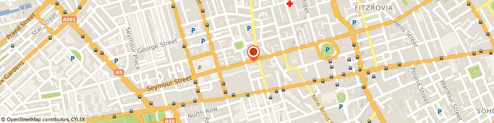 Route/map/directions to Music For London, W1U 3RX London, 122 WIGMORE STREET