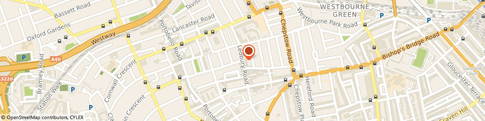 Route/map/directions to Notting Hill Locksmiths, W11 4LW London, Ledbury Road, Notting Hill