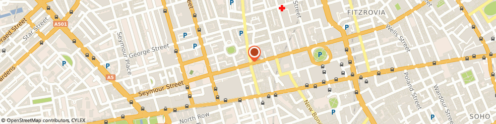 Route/map/directions to Joe & The Juice, W1U 3RB London, 88 Wigmore Street