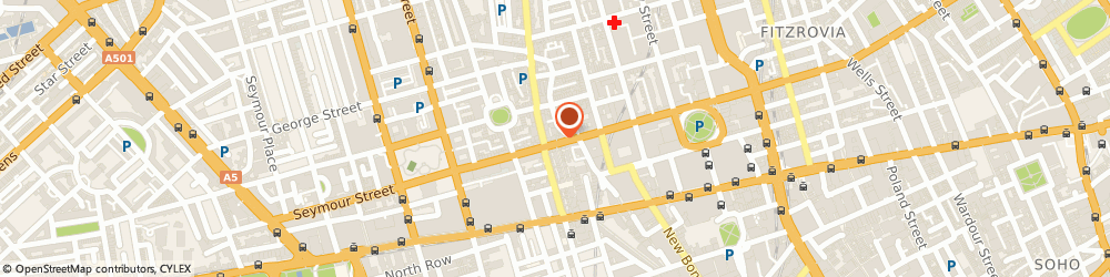 Route/map/directions to Rent Review Consultancy Services Ltd, W1U 2SQ London, 74 Wigmore Street
