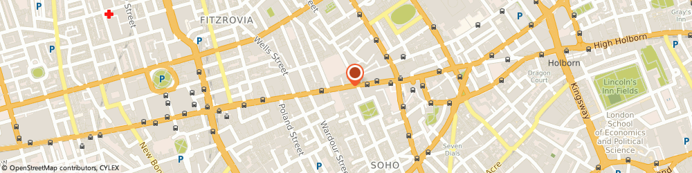 Route/map/directions to The Ideas Men, W1D 2EU London, VICTOR HOUSE, 81 OXFORD STREET
