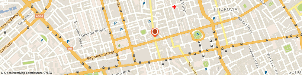 Route/map/directions to ZEDRA CORPORATE SOLUTIONS UK LIMITED, W1U 3ET London, 1 Dukes Mews
