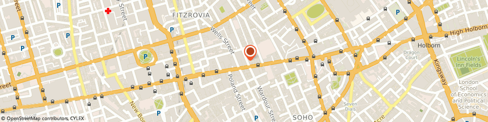 Route/map/directions to Evans Limited, W1T 3NL London, Colegrave House, 70 Berners Street