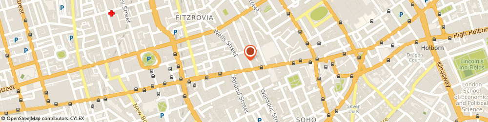 Route/map/directions to Arcadia Group, W1T 3NL London, Colegrave House;70 Berners Street