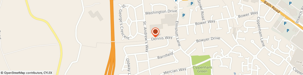 Route/map/directions to Vetech Services, SL1 5JP Slough, 44 Dennis Way