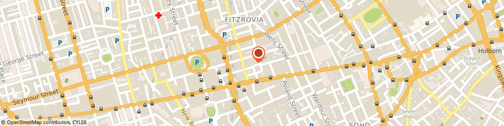 Route/map/directions to Tess Management, W1W 8AQ London, 9-10 Market Pl
