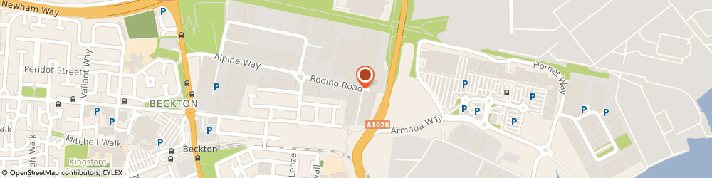 Route/map/directions to Speedy Lifting, E6 6LS London, 74 Roding Rd