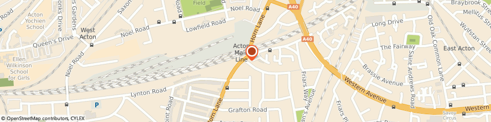 Route/map/directions to Nds Saab Specialist, W3 6JH London, 2 Emanuel Avenue
