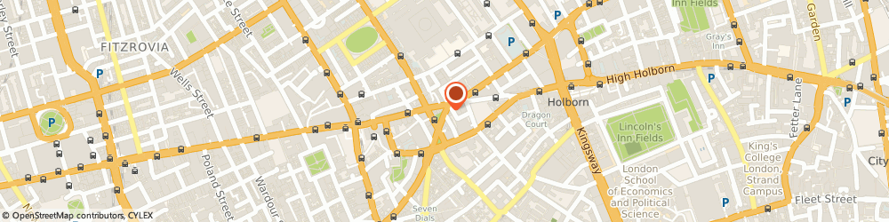 Route/map/directions to Angels Fancy Dress, WC2H 8AE London, 119 Shaftesbury Avenue
