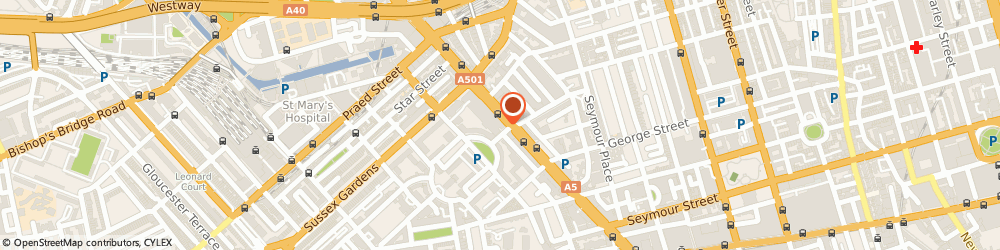 Route/map/directions to Safestore Self Storage Paddington - Marble Arch, W2 2HN London, Burwood Place