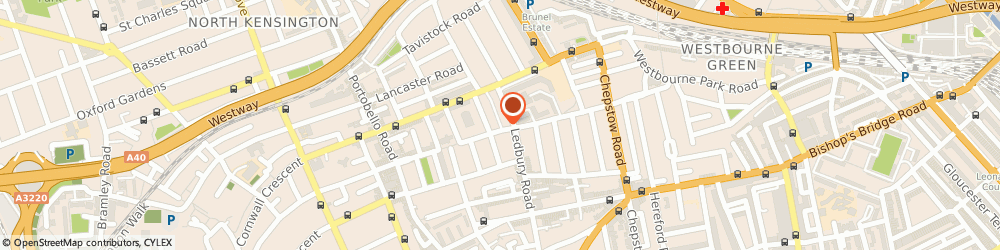 Route/map/directions to Hugo Burnand Limited, W11 1JN London, 1 Powis Mews