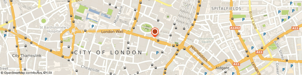 Route/map/directions to Citigate Dewe Rogerson, EC2M 5SY London, 3 London Wall Buildings