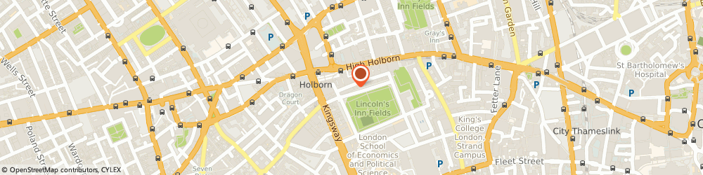 Route/map/directions to Palantir Technologies Uk, Ltd., WC2A 3BP London, 8 LINCOLN'S INN FIELDS