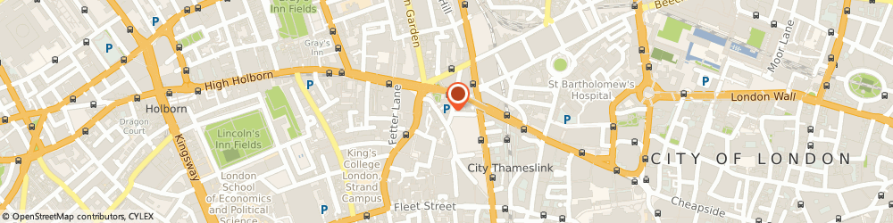 Route/map/directions to In Wheels We Trust, EC4A 3BE London, 63 Shoe Ln