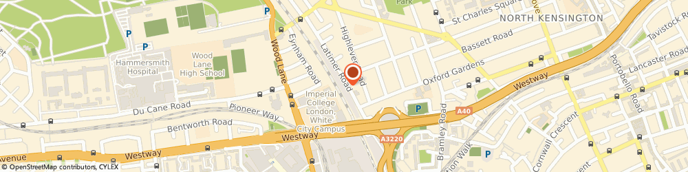 Route/map/directions to We Buy Any Car North Kensington, W10 6RQ London, Unit 1 Ground Floor