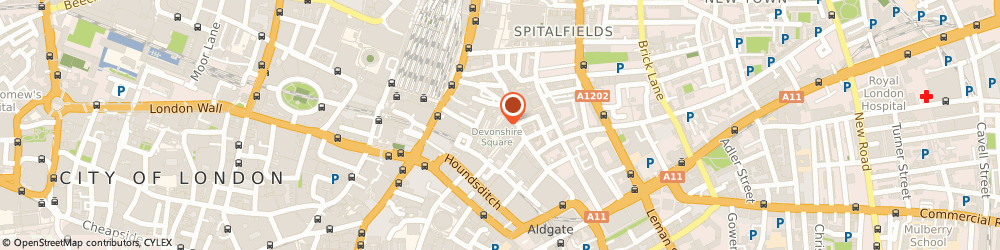 Route/map/directions to Aon Insurance, EC2M 4PL London, 8 Devonshire Square