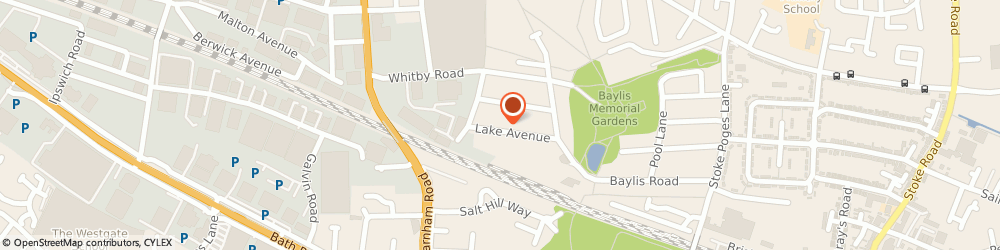 Route/map/directions to Bruce Bishop & Sons Ltd, SL1 3BZ Slough, 69, LAKE AVENUE