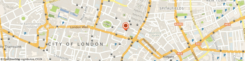 Route/map/directions to Blue Train Marketing Limited, EC2M 1NH London, New Broad Street House, 35 New Broad Street