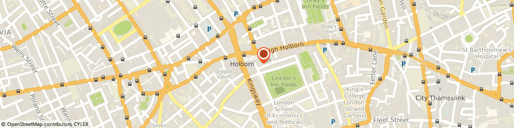 Route/map/directions to Bull at The Gate, WC2A 3HP London, 4 Gate St