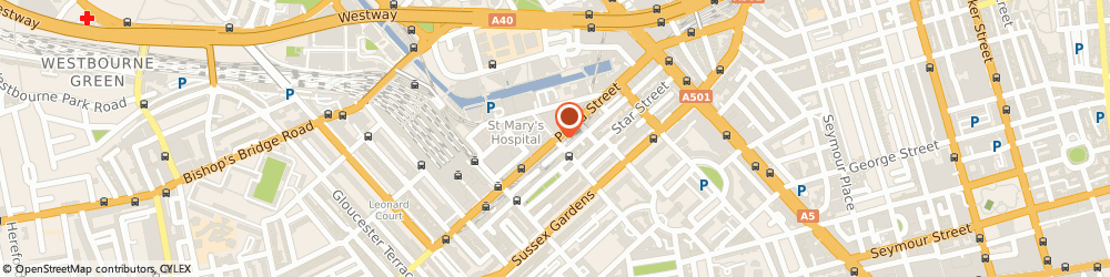 Route/map/directions to one2onecars, W2 1RH London, 191-195 Praed Street