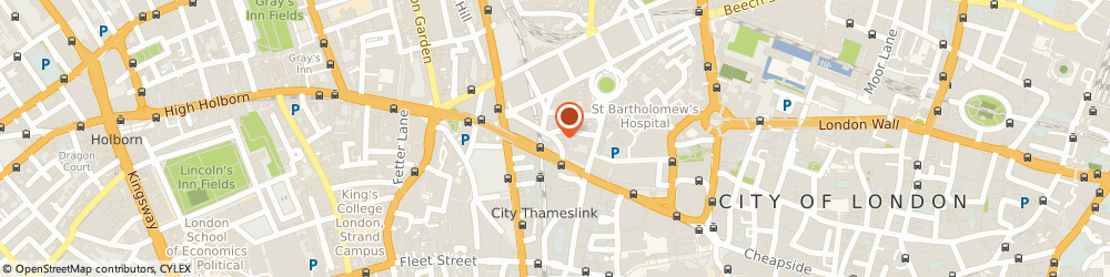Route/map/directions to Snow Hill Police Station, EC1A 2DP London, 5, SNOW HILL