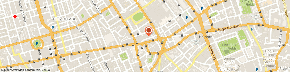 Route/map/directions to The Bloomsbury Hotel, WC1B 3NN London, 16-22 Great Russell Street